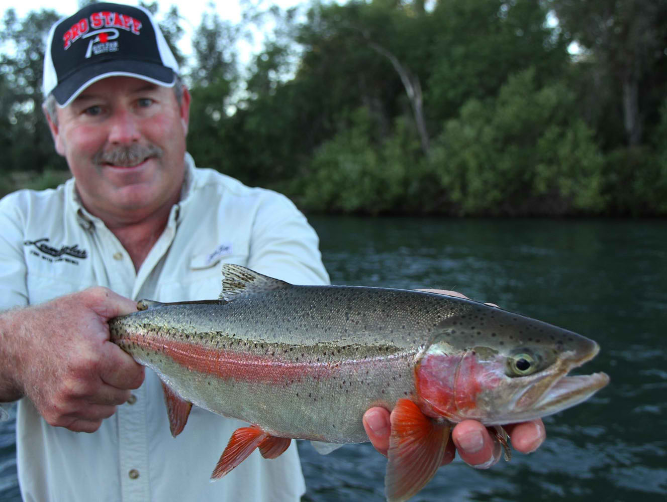 Mike Bogue Full Time Sacramento River Fishing Guide